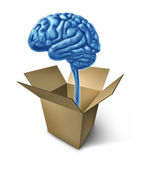 Thinking out of the box — Stock Photo