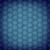 Blue antique old wallpaper — Stock Photo