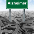 Alzheimer Disease and DementiMedical concept — Stock Photo #8607729