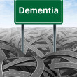 Dementia — Stock Photo