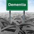 Royalty-Free Stock Photo: Dementia
