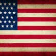 Stock Photo: Grunge USFlag