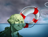 Financial Rescue — Stock Photo