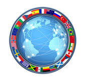 World Internet connections — Stock Photo