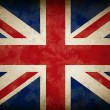 Great Britain Old Grunge Flag - Stock Photo