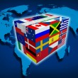 Global Cargo - Stock Photo