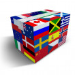 Global Shipping and Delivery - Stock Photo