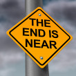 The End Is Near — Foto Stock