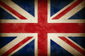 Great Britain Old Grunge Flag — Stockfoto