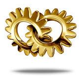 Golden Business Partnership — Stock Photo