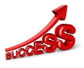 Erfolg und wachstum — Stockfoto