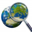 Planet Earth Focus On Europe — Stock Photo #8853885
