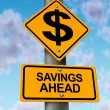 Stock Photo: Savings Ahead