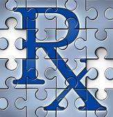 Concepto de reforma de salud — Foto de Stock