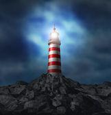 Lighthouse Light — Stock Photo