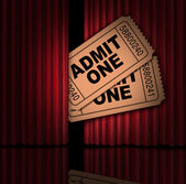 Filmes e entretenimento — Foto Stock