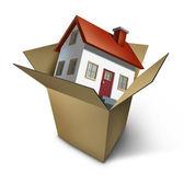 Moving House — Stock Photo