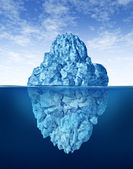 Tip Of The Iceberg — Stock Photo