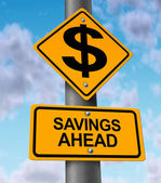 Savings Ahead — Foto Stock