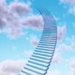 schody do nieba — Zdjęcie stockowe #8861235