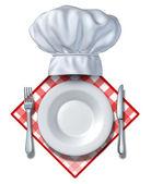 Prvek návrhu restaurace — Stock fotografie