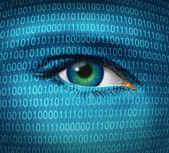Segurança na internet — Foto Stock