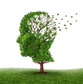 Do czynienia z demencją — Zdjęcie stockowe