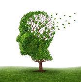 Lidando com demência — Foto Stock