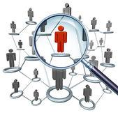 Poszukiwanie pracy — Zdjęcie stockowe