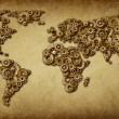 International Economy Old Map — Stock Photo #9074025