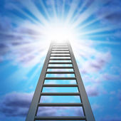 Corporate Ladder — Stock Photo