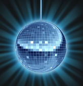 Disco Ball Dance Night — Stock Photo