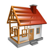 Building A Home — Foto de Stock