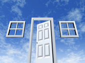 Open Door to Opportunity — Stock Photo