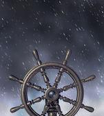 Navigera genom stormen — Stockfoto
