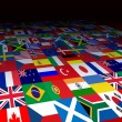World Flags Background — Stock Photo #9547348