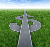 Road To Riches — Stock Photo