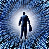 Technology Business — Stock Photo
