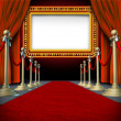 Stock Photo: Movie Marquee Sign