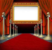 Kino neon znak — Zdjęcie stockowe