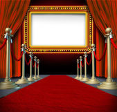 Movie Marquee Sign — Stockfoto