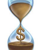Tempo é dinheiro — Foto Stock