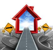 услуги по недвижимости — Стоковое фото