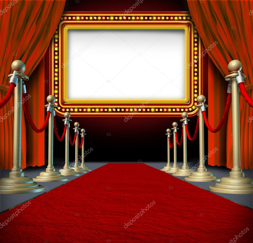 Movie Marquee Sign — Stock Photo © lightsource #9669240