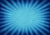 Retro vybuchující modré pozadí — Stock fotografie
