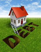 Real Estate Recovery — Stock Photo