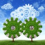 Cloud Computing Growth — Stock Photo