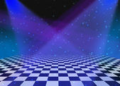 Party Dance Floor background — Stock Photo