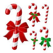 Christmas candy — Stock Vector