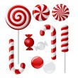 Delicious lollipop collection — Stock Vector #8319178
